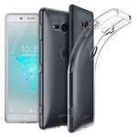 Flexi Ultra Slim Gel Case for Sony Xperia XZ2 Compact - Clear